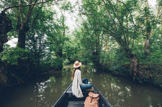 La dame à la barque